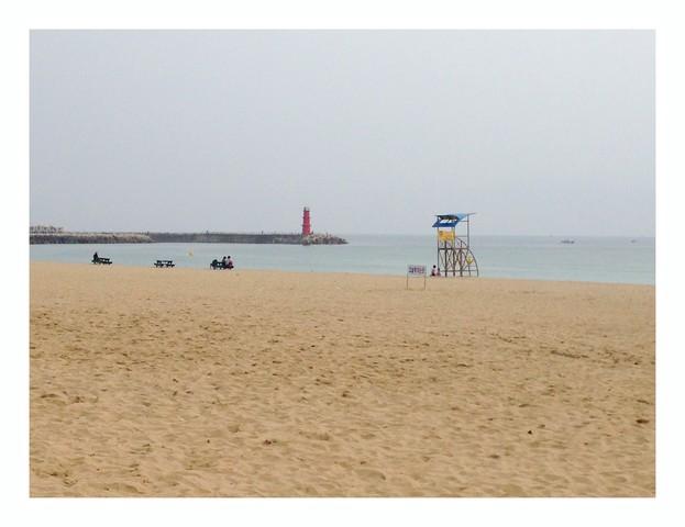 Yangyang-gun, Gangwon-do, Korea: Naksan Beach