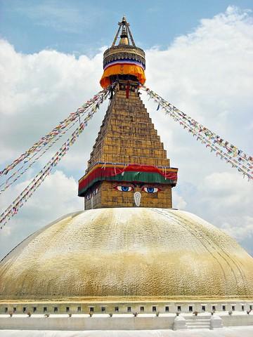 Kathmandu, Nepal: Boudhanath