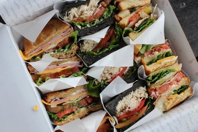 Cafe Mama's sandwich set