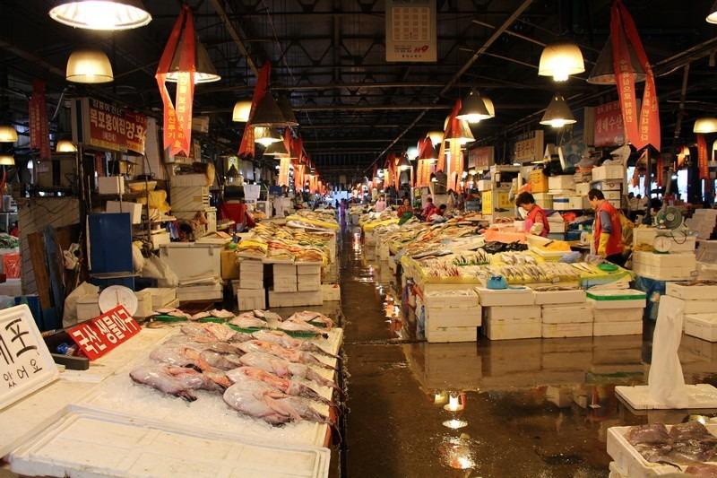 Seoul, Korea: Noryangjin Fish Market