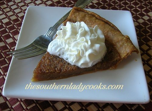 Brown Sugar Pie - TSLC