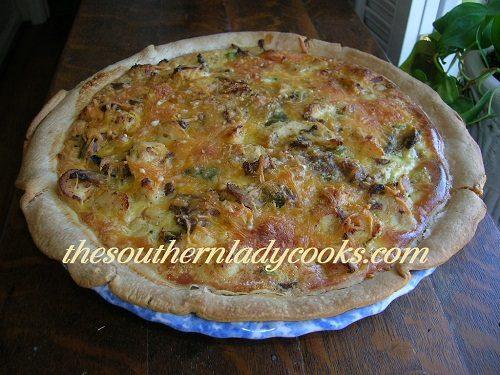 Chicken and Broccoli Quiche or Pie TSLC