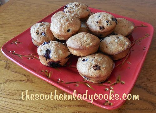 Pineapple Blueberry Bran Muffins - Copy