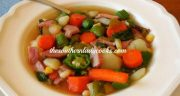 HAM AND GARDEN VEGETABLE SOUP