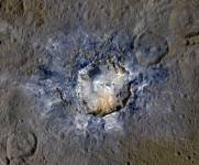 Haulani Crater on Ceres