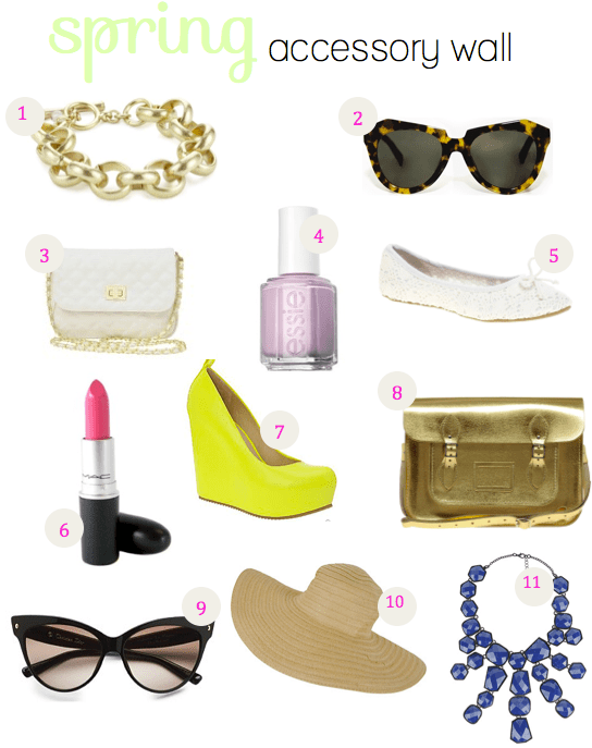 spring accessory wall
