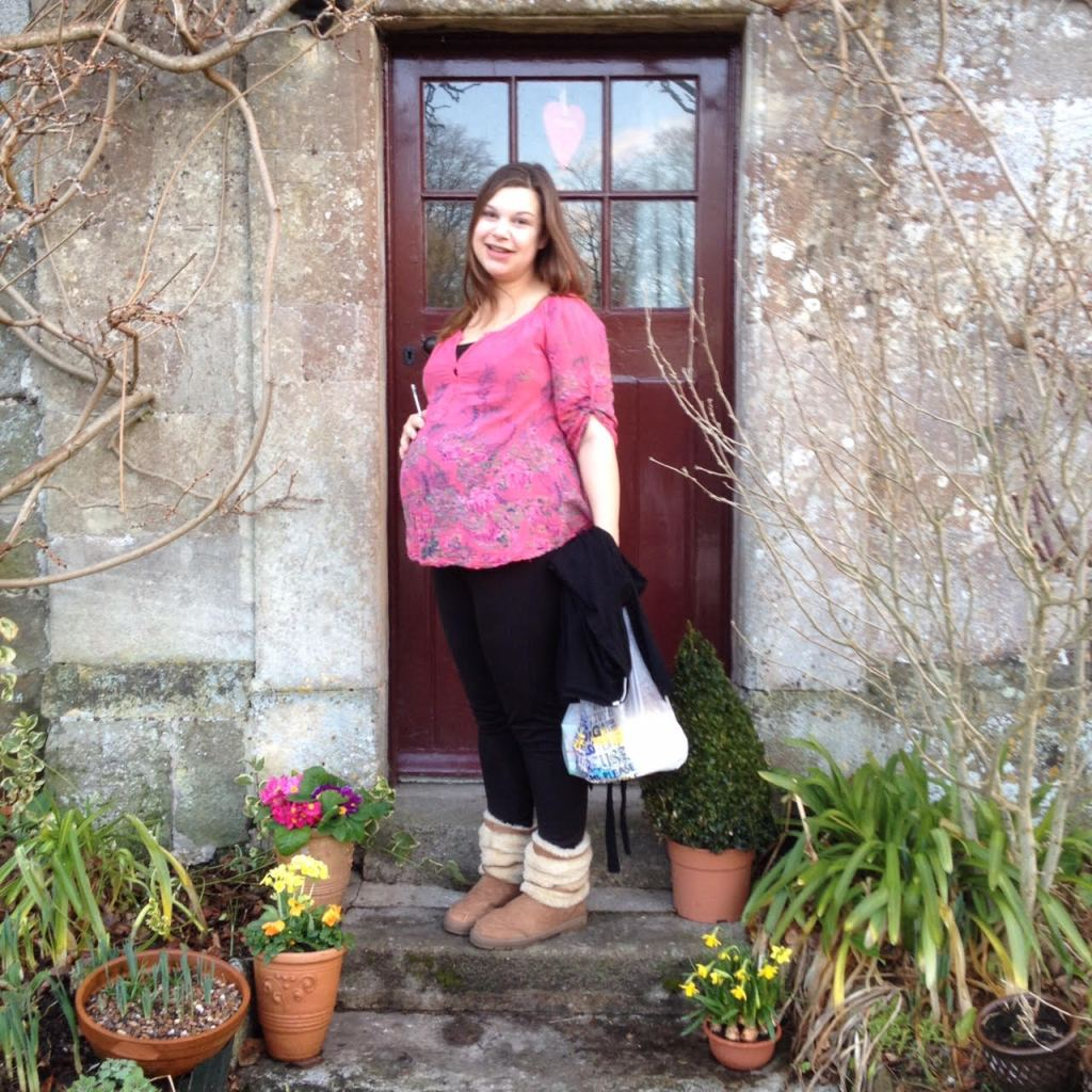 Just leaving for hospital at 42 weeks pregnant