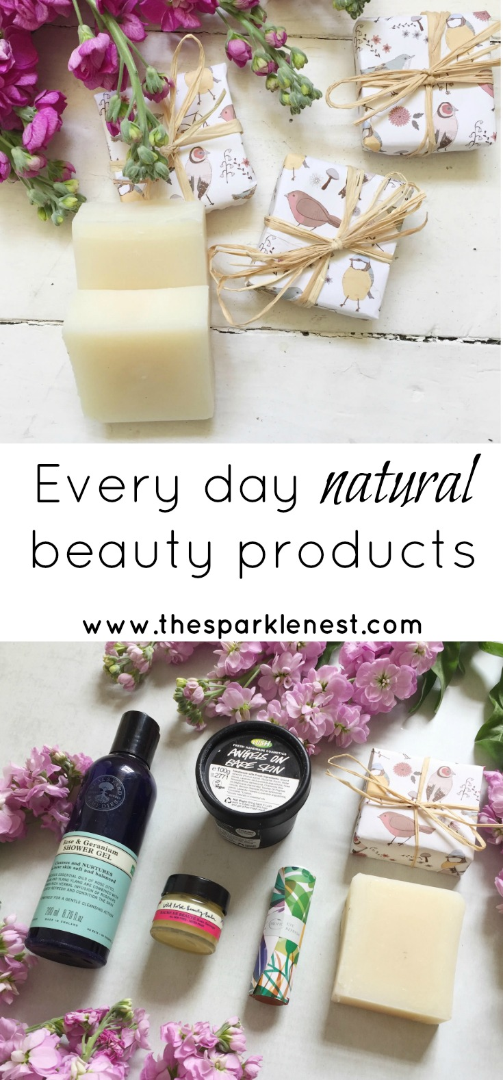 Every day natural beauty products