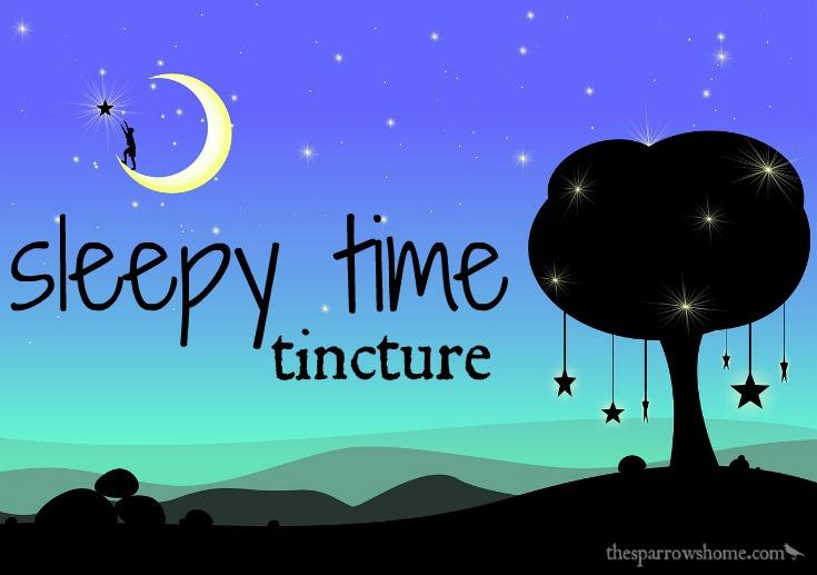 Sleepy Time Tincture