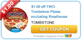 Tombstone Pizza, Country Crock, Bacardi Mixers, Welch's & Dole Fruit Coupons
