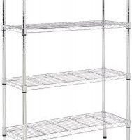 Highly Rated 4-Shelf Shelving Unit $39.86 (Regular $55.99)