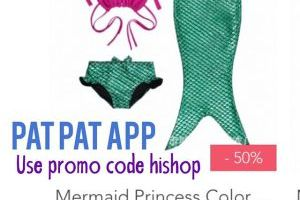 Mermaid Bathing Suit with Tail $9.48 Shipped (Regular $19.99)