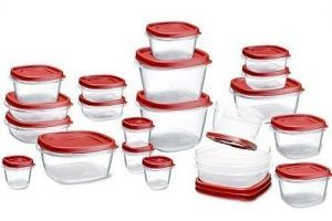 42 Piece Rubbermaid Easy Find Lids Containers $9.95 (Regular $23.38)