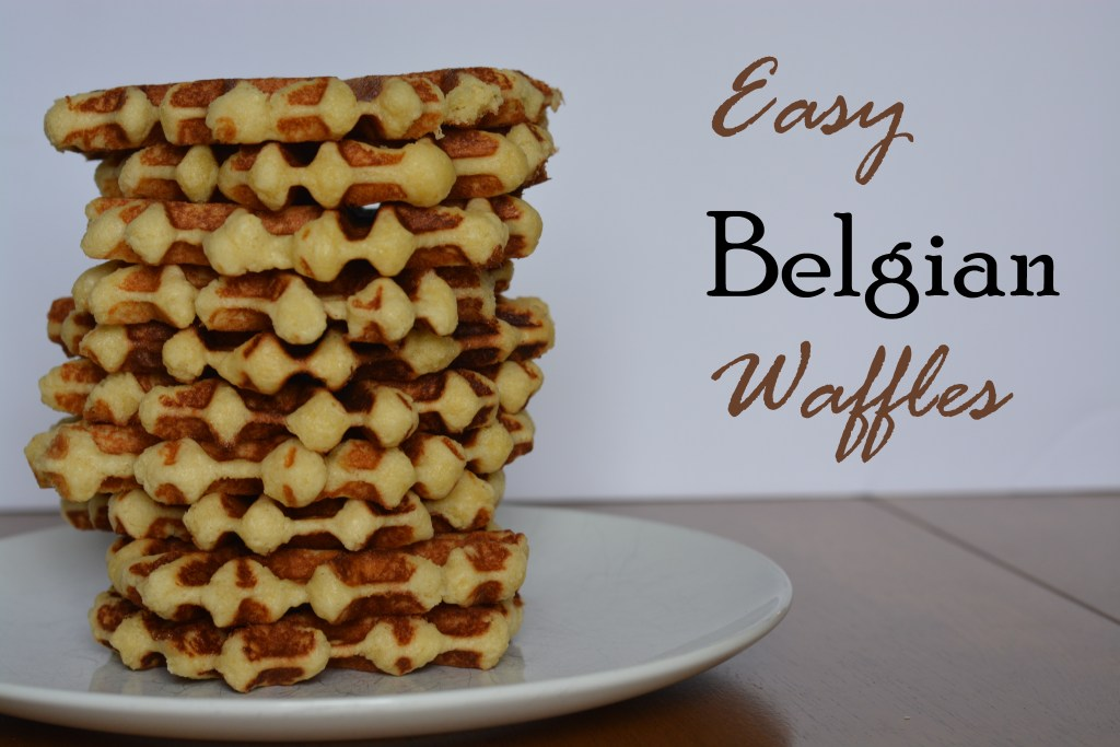 Easy belgian lige waffles the spicy ginger belgianwaffles title forumfinder Choice Image