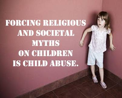 Forcing religious child abuse