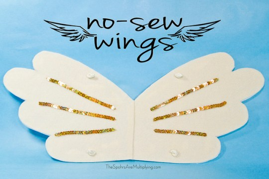DIY No Sew Wings