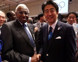 Japan's Prime Minister vows to cooperate with Tokyo 2020 bribe investigation as Papa Diack denies wrongdoing
