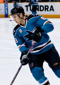 Joe Pavelski. Photo By Ivanmakarov at English Wikipedia, CC BY 3.0, https://commons.wikimedia.org/w/index.php?curid=4248137