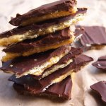 Christmas Crack aka Chocolate Saltine Toffee