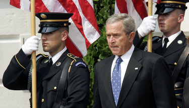 Bush_honor_guard_1