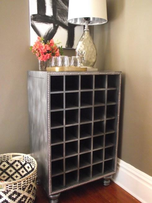 Restoration Hardware Inspired Wine cabinet