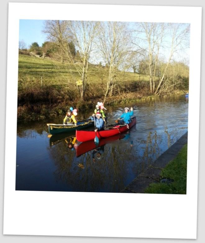 Bath, canoes, Avon, canal