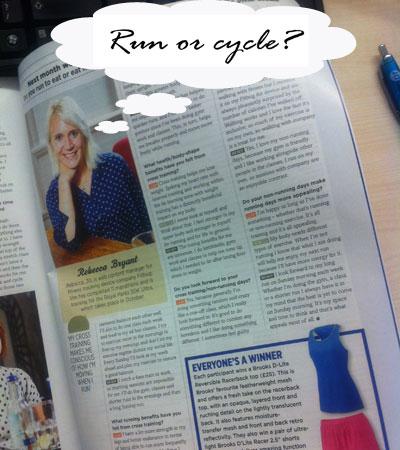 Run or cycle