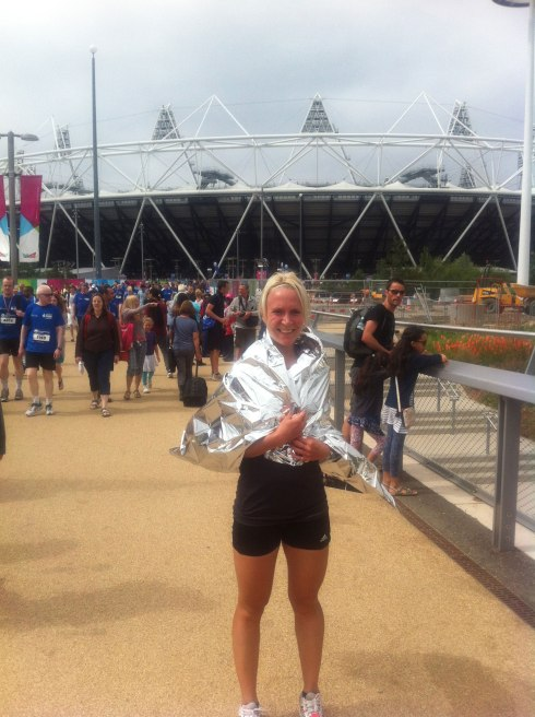 Me outside the Olympic Stadium