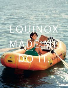 Equinox made me do it - not quite this but you get the picture
