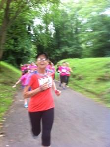 Dynamo Mum hits the hills