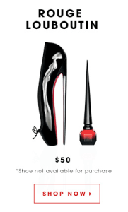 Behold, the most expensive polish in the world. (The shoe is not included.)