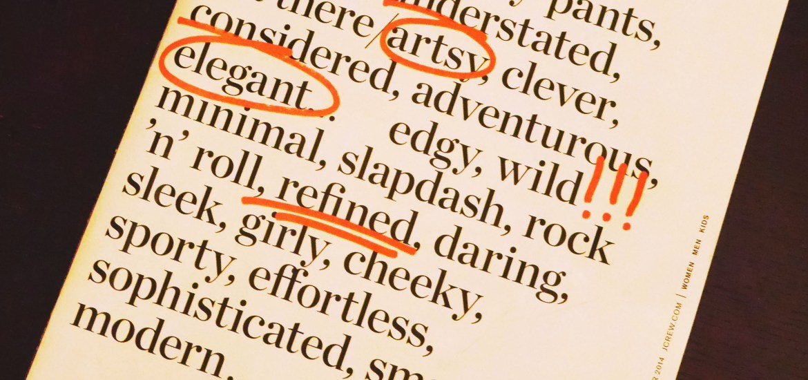 Refined AND wild? Someone has an identity crisis.