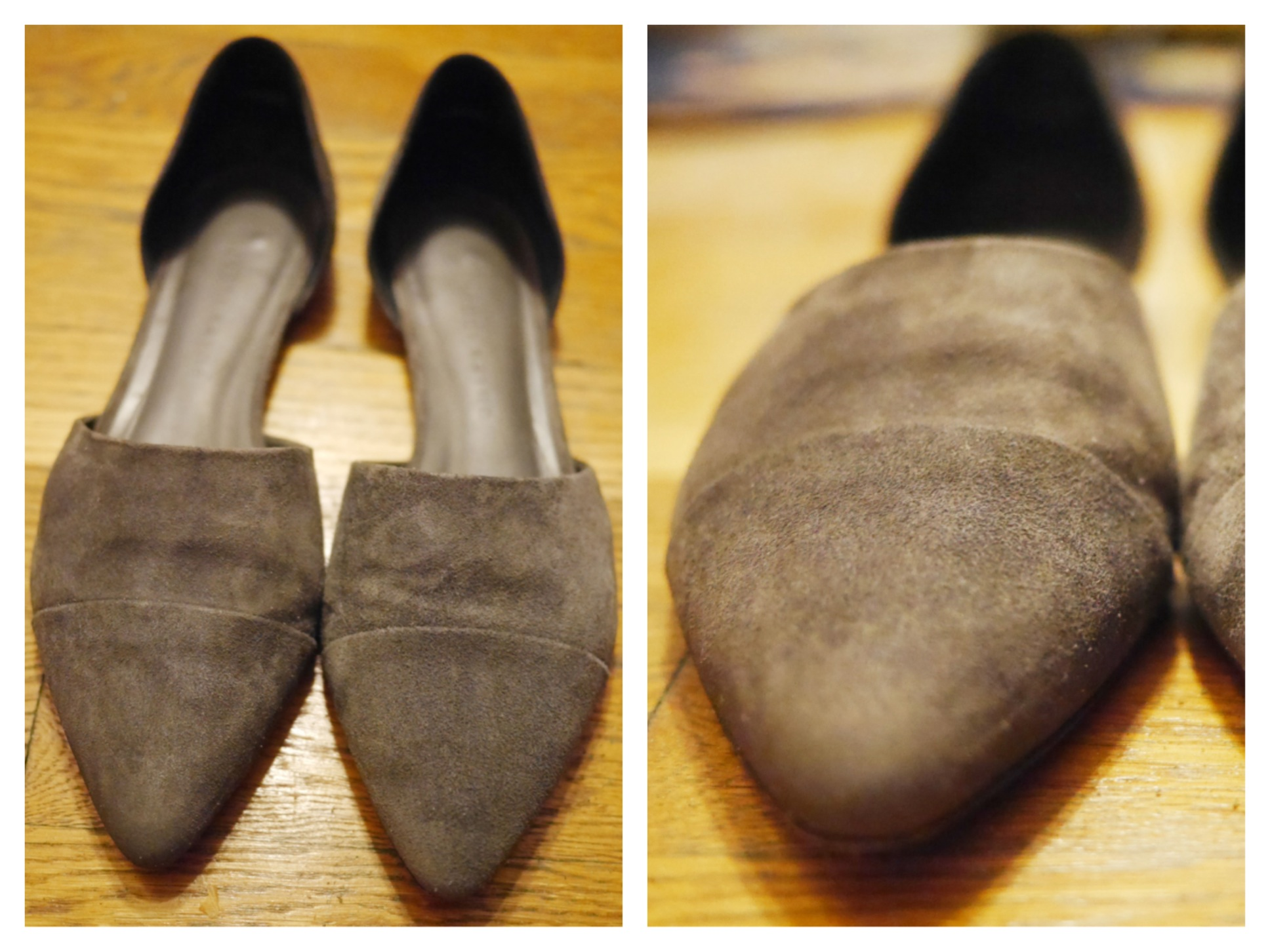 How to Fix Wet Suede Shoes