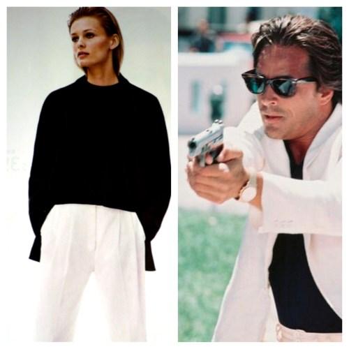 Put that gun down, you're BOTH under arrest.
