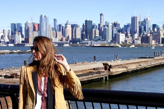 On the fringes of Hoboken. (Sorry for the bad joke.)
