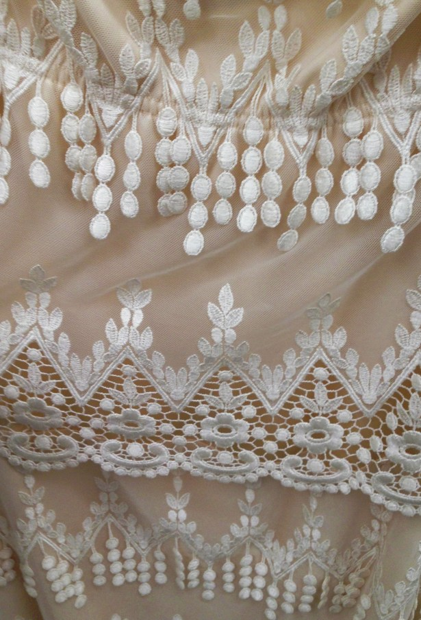 Details of my dress.