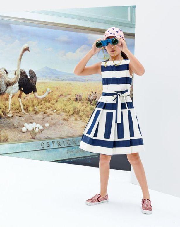$98 Sateen Stripe Dress