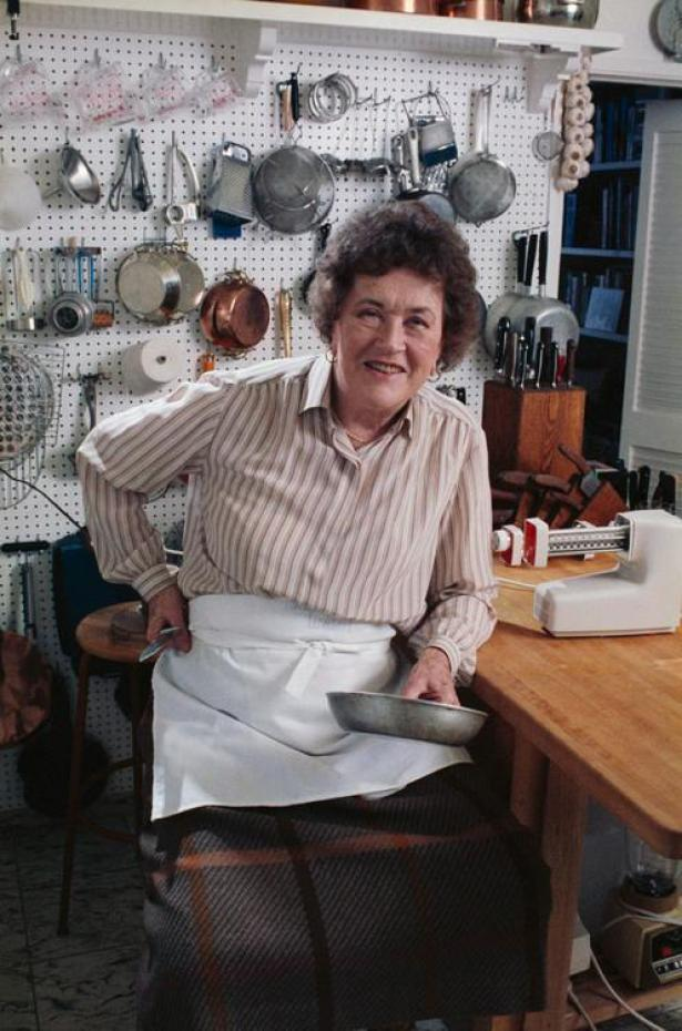 My inspiration was Julia Child's kitchen.