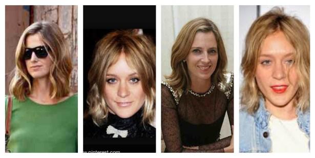My hair inspiration: Chloe Sevigny and Amanda Brooks