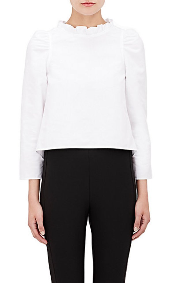 Atlantique Ascoli Faille Enfant Blouse, $680 at Barneys