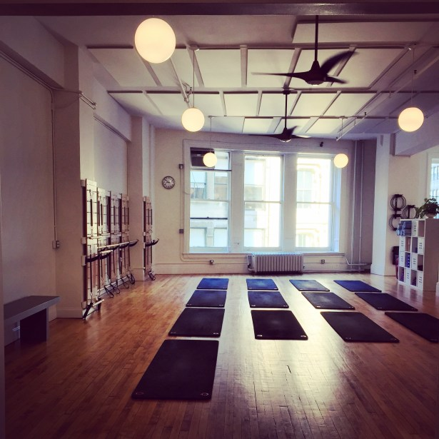 My first time at pilates was also my last time at pilates.