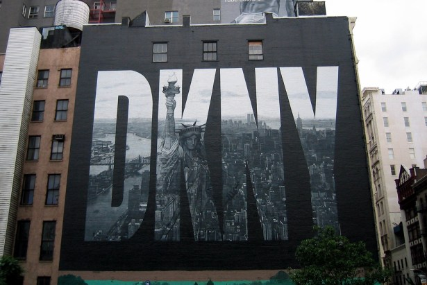 The old DKNY is no more.