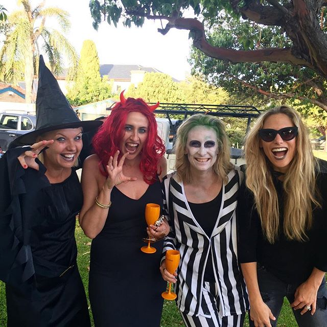 halloween-face-paint_tan-nic-bev-and-rayne_the-style-trust