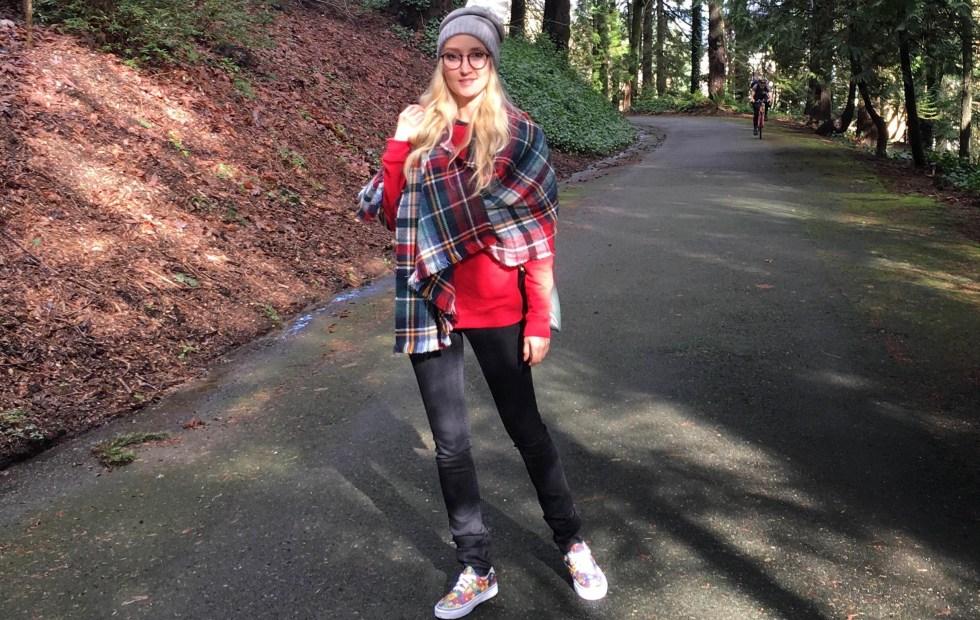 Liliya Anisimova in the Pacific Northwest