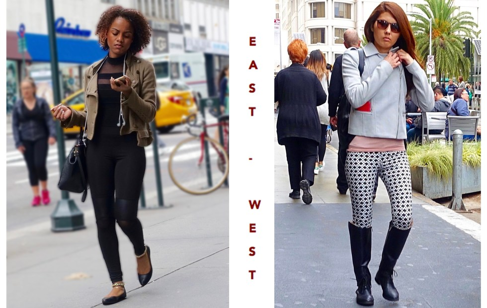 East vs west coast style
