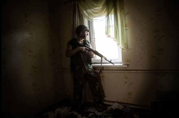 Donbass stories - Spartaco and Liza, Giorgio Bianchi ©Giorgio Bianchi