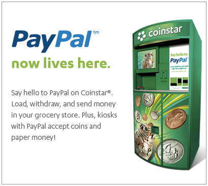 (Image: PayPal-Coinstar)