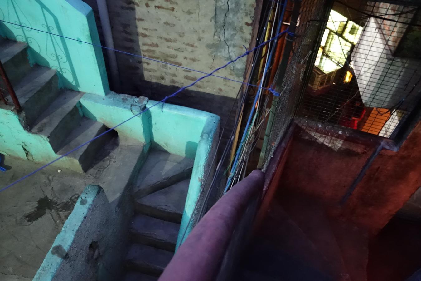 Staircase in Majnu Ka Tila, Delhi