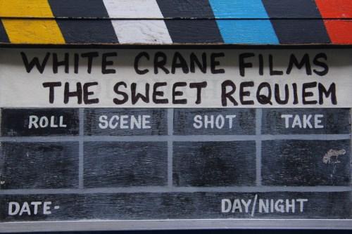 The Sweet Requiem clapboard