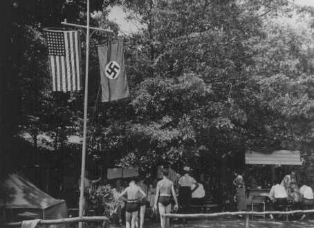 German-American Bund summer camp, 1930s